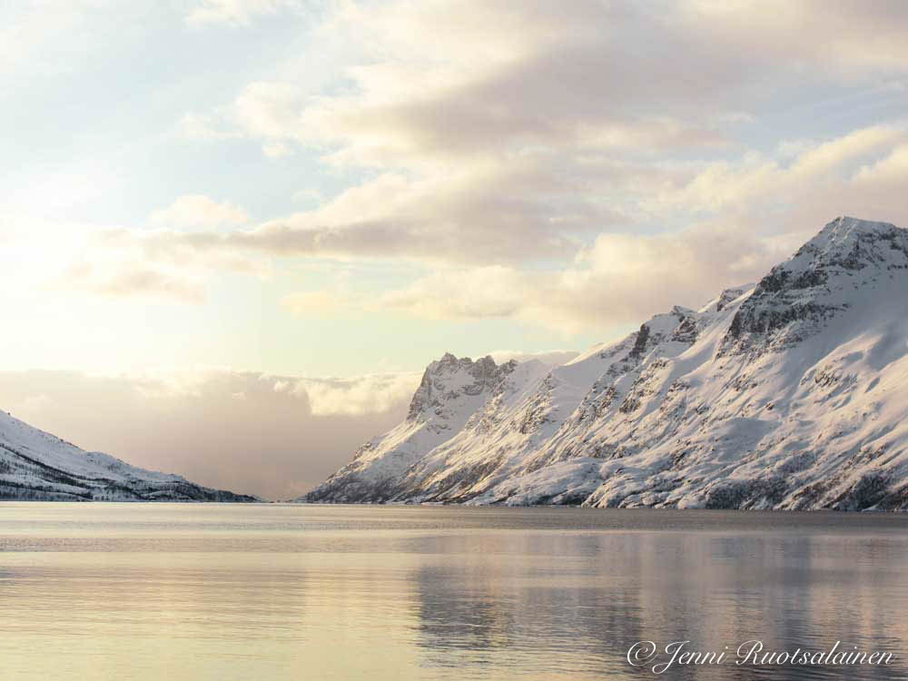 Norjan luminen vuoristo ilmastokalenteri